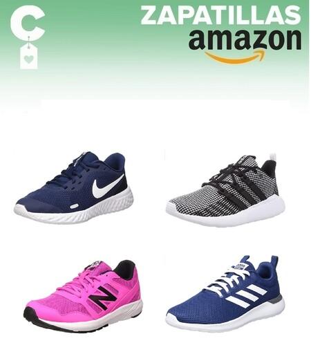 Chollos en tallas sueltas de  zapatillas Adidas, Nike Y New Balance en Amazon