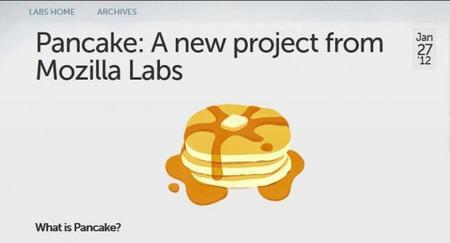 Los pancakes de Mozilla tienen una pinta riquísima