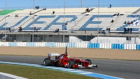Massa Jerez F1