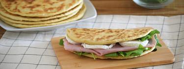 Cómo hacer piadinas italianas, la receta de pan plano en sartén sin levadura que te solucionará muchas comidas y cenas