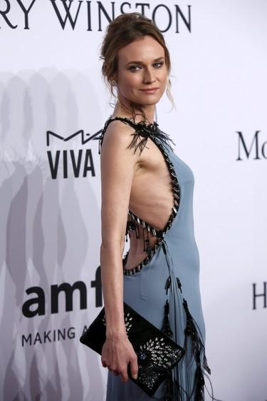 Diane Kruger nos deleita de nuevo en la gala AmfAR, ¡a tus pies Diane!