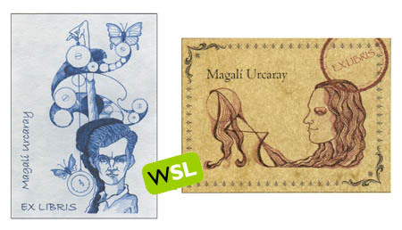 Ex libris Magalí Urcaray