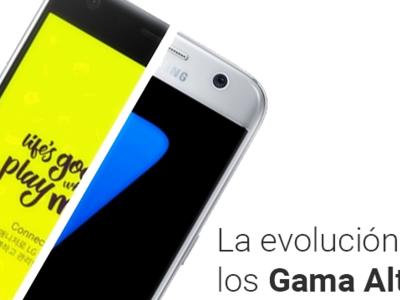 Samsung Galaxy S7 y LG G5, los comparamos con sus antecesores