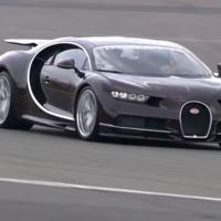 El primer video del Bugatti Chiron grabado onboard en Nurburgring
