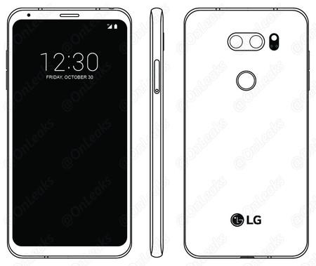 LG V30 tendría diseño muy similar al G6: sin pantalla secundaria y con poderosa cámara para tomas nocturnas