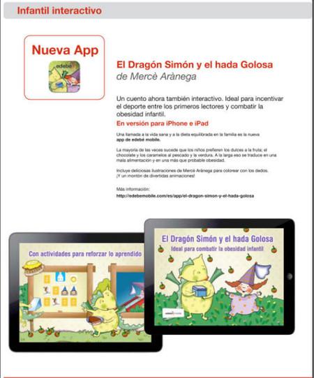 Ilustración el dragón Simón y el hada Golosa