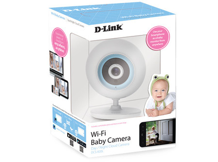 D-Link ya tiene lista su nueva cámara vigilabebés económica