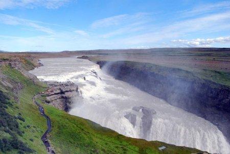 Islandia: Gullfoss, la cascada dorada