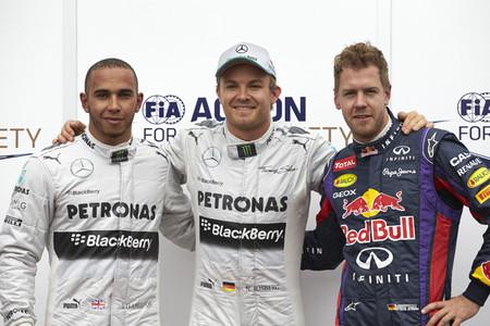 Nico Rosberg es el señor de las poles