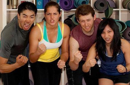 Las diferentes actividades que elegimos hombres y mujeres en el gimnasio