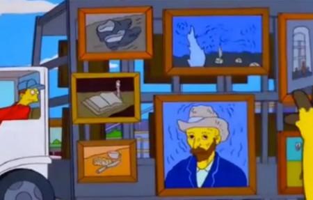 Simpsons Noche Estrellada