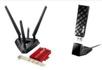 PCE-AC66 y USB-AC53, dos adaptadores ASUS para tener conectividad 802.11ac