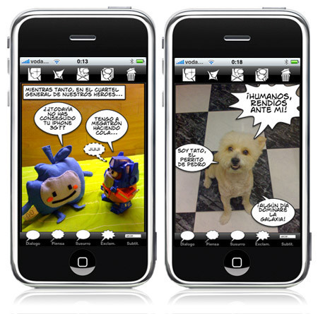 "Comic Touch: Por fin tenemos un ""Comic Life"" para el iPhone e iPod touch"