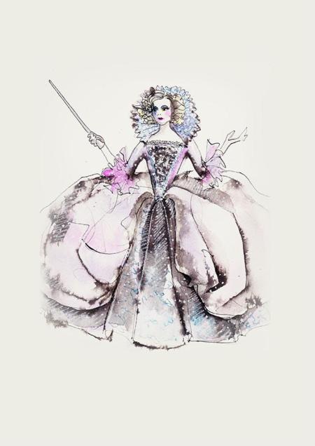 Cinderella Costume Signage Godmother