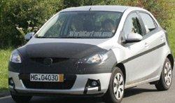 Primera foto espía del nuevo Mazda 2