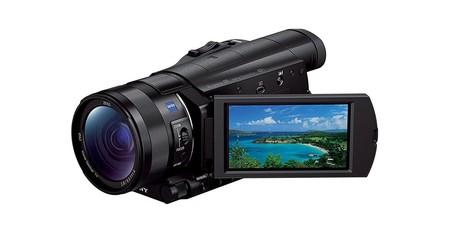 Sony Handycam FDR-AX100E: una videocámara de gama alta rebajada en más de 350 euros hoy, en Amazon