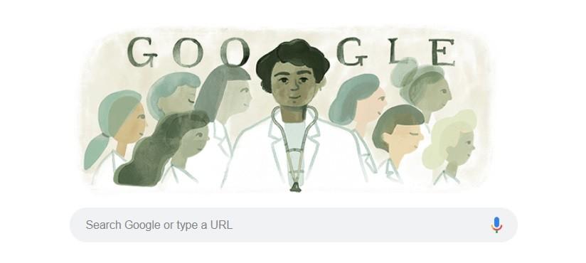 """""""Impúdica"""" llamaron a Matilda Montoya, la primera doctora mexicana que aparece en el doodle de Google del 14..."""