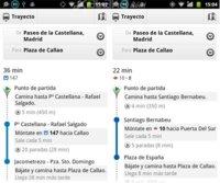 Google Transit ahora muestra información en tiempo real del transporte público en Madrid