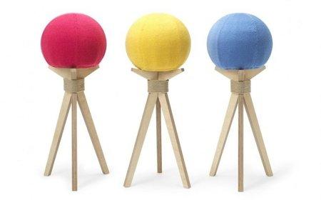 Dandelion stool, asientos con forma de pelota