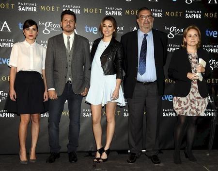 Y tenemos nominados a los Goya con despliegue de celebrities