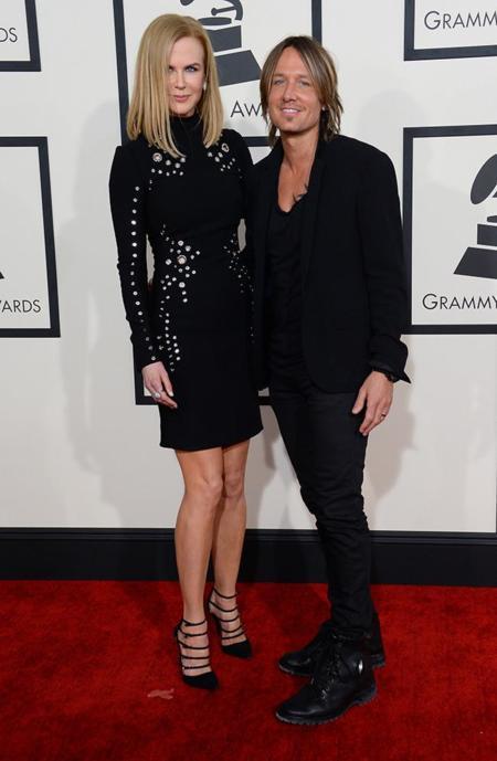 Parejas Grammy 2015 Nicole Kidman Keith Urban