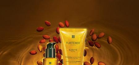 Los cabellos secos  están de celebración: llega Kartié Hydra y Karité nutri de René Furterer