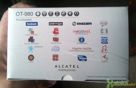 Alcatel OT-980: análisis de un Android económico con teclado QWERTY