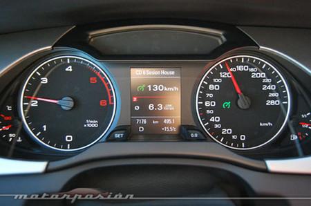 Circular a 130 km/h