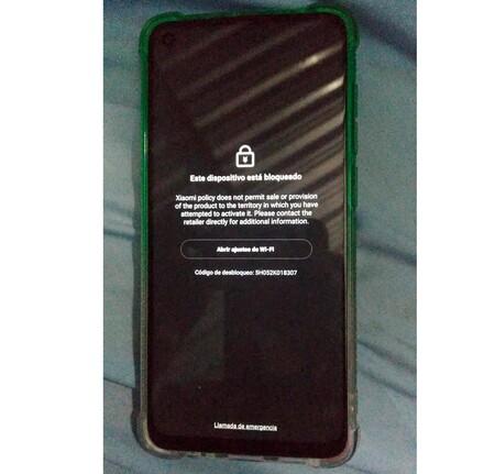 Xiaomi Bloqueado