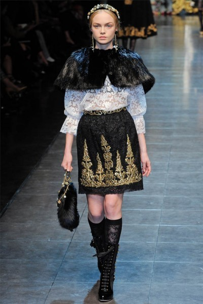Dolce Gabbana Otoño-Invierno 2012/2013: I´m every woman, its all in me...