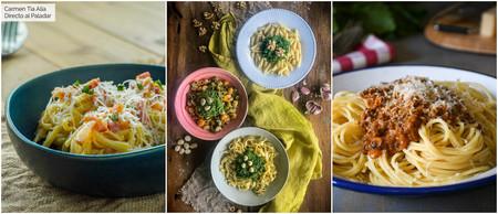 Estas son las tres mejores salsas para acompañar tus platos de pasta, con vídeo recetas incluidas