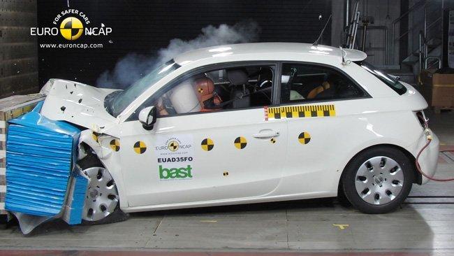 Audi A1 Euro NCAP