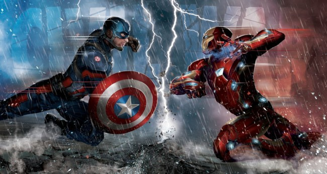 Captain America Civil War Portada