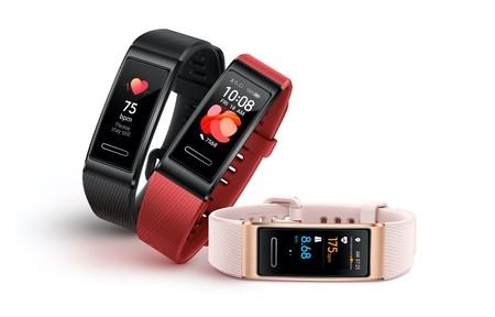 Con GPS y sensor de frecuencia cardiaca, en el Día sin IVA de MediaMarkt, te puedes hacer con la pulsera deportiva Huawei Band 4 Pro por sólo 48,76 euros