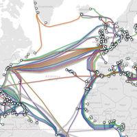 Todos los cables submarinos que conectan al mundo, a la vista en este estupendo mapa interactivo