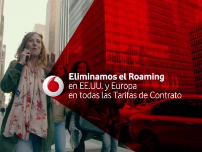 El roaming gratis de Vodafone también estará incluido en las tarifas de Internet Móvil