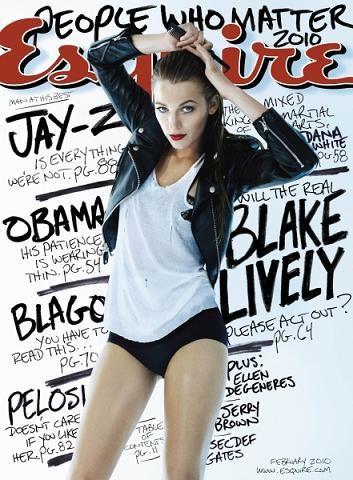 El desbordante atractivo de Blake Lively en portada