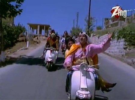 Bollywood Lambretta's, unos minutos musicales salidos del pasado