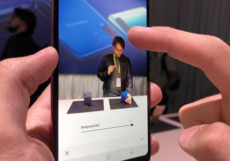 Samsung Galaxy A9 Bokeh