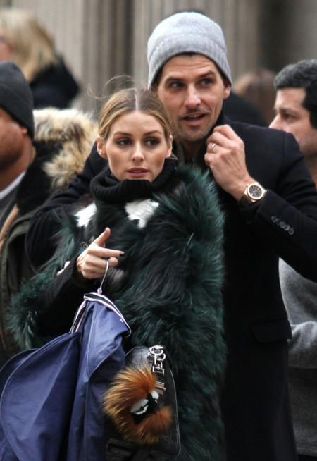 Los 'street style' de Olivia Palermo para hacer frente al frío de Nueva York