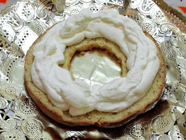 Vista relleno Roscón de Reyes
