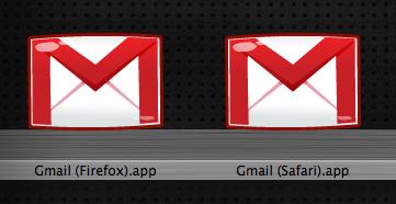 Gmail en Firefox y en Safari