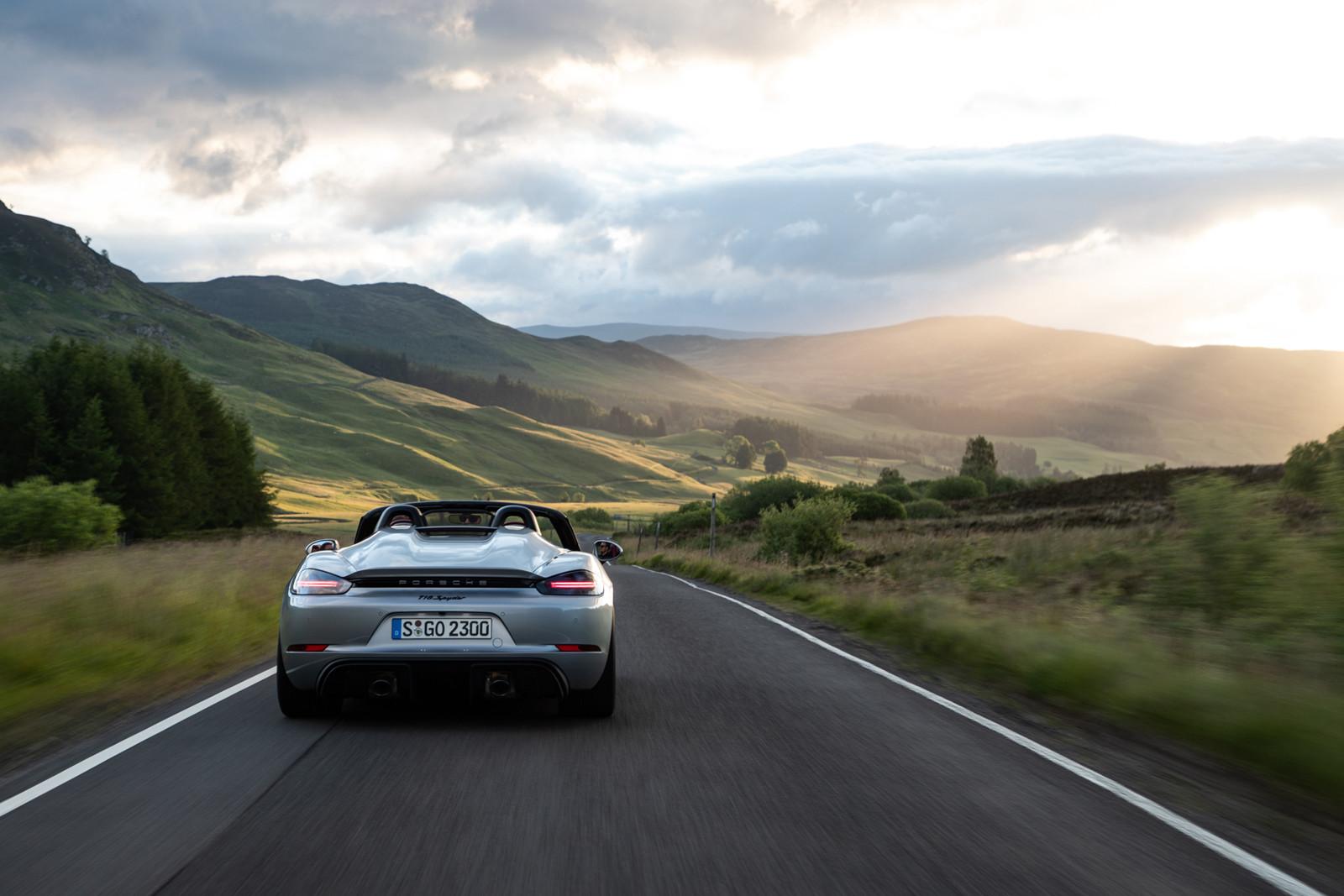 Foto de Porsche 718 Spyder (prueba contacto) (219/296)