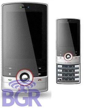 HTC Juno, con WM6 y touchflo posiblemente