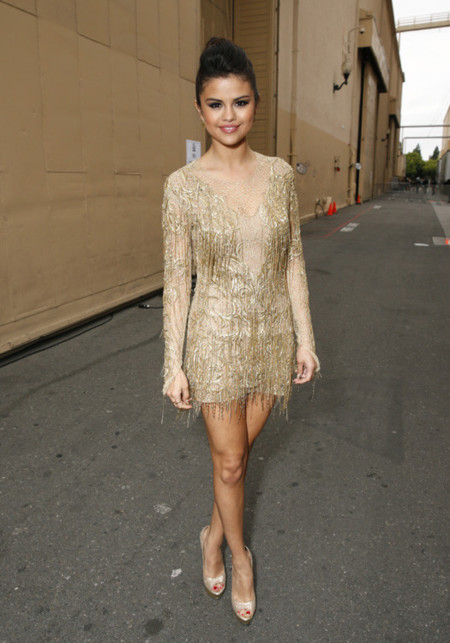 Selena Gomez mtv movie awards 2013