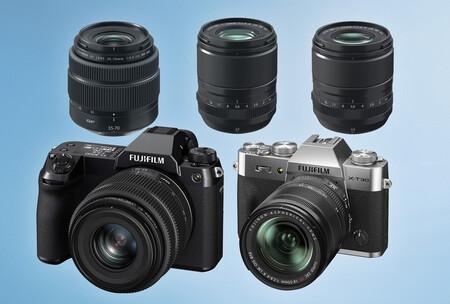 Fujifilm X-T30 II y GFX50S II: renuevan dos cámaras y un objetivo de las series X y GFX y añaden dos lentes al catálogo de la casa