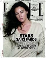 Monica Bellucci y otras bellezas al natural en Elle