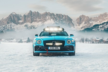 Bentley Continental Ice Race Gt 4