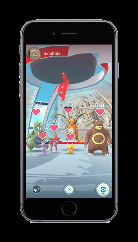 Pokemon Go Gimnasios 01