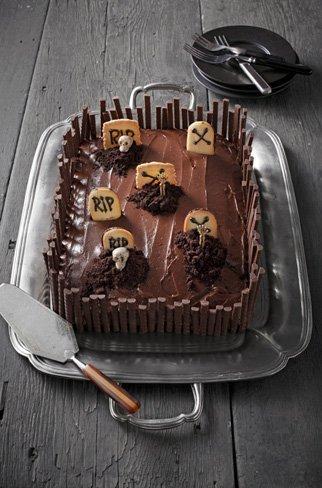 Tres terroríficos pasteles para la noche de Halloween